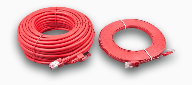 Gigabit Slim Patch Cord / Slimkabel Wirewin / dünnstes Kabel der Welt