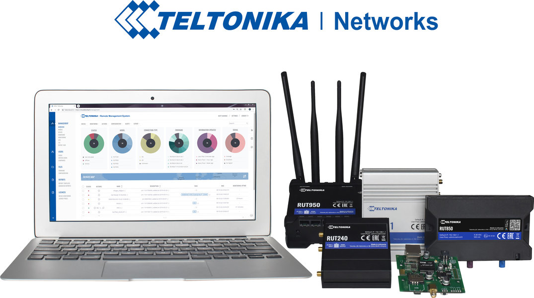 Teltonik RMS and Router