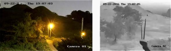 Thermalkamera vs. normale Kamera