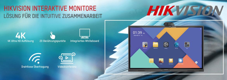 HIKVISION Interaktive Monitore