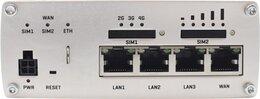 Teltonika LTE-A Cat6 Dual SIM Router mit WiFi, 4x 1Gbit, I/O, RS232, RS485, GPS, microSD
