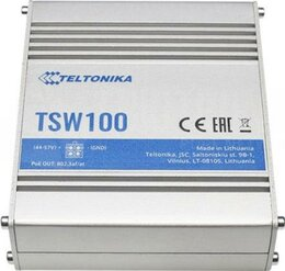 Teltonika IP30 Industrie 5-Port 1Gbit PoE+ unmanaged Switch, -40°C - +75°C