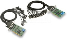 Moxa 8-Port RS-232/422/485 Universal PCI Serial Boards