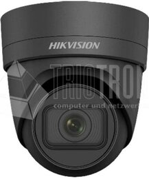 Hikvision 8MP VF Turret Network Kamera, 120dB WDR, H.265+, EXIR 2.0, motorisiert, black