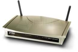 PLANET 802.11g WiFi DECT/VoIP Router (SIP) - Two Voice Channel