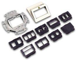 Lightwin LWL Dose inkl. Adapterplatten für alle gängigen Adapter, beige