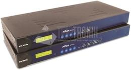 Moxa 8 port device server, 10/100M Ethernet, RS-232/422/485,