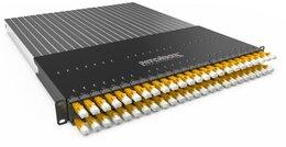 PATCHBOX® PATCHBOX®Plus+ mit 24 PATCHBOX® Kassetten/Patchkabel, U/FTP, 1,7m, gelb