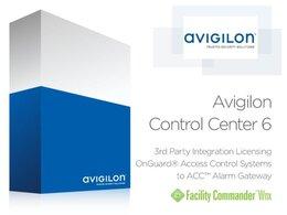 Avigilon ACC6 OAAP Certified Lenel OnGuard Integration Lizenz