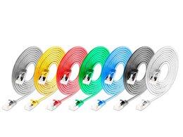 Wirewin KAT6A 10 Gigabit Lightpatchkabel rund, U/FTP, Ø 3,8mm, blau