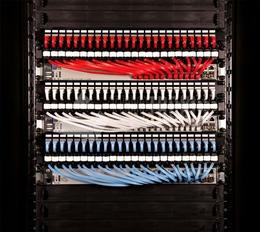 PATCHBOX® PATCHBOX®Plus+ Kassette mit HQ Duplex LWL Patchkabel, 1,7m, SM, LC - LC