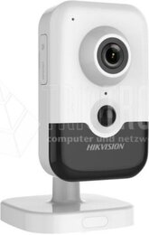 Hikvision 8 MP IR Fixed Cube Network Camera, H.265+, IR up to 10m, PoE, 15 fps