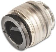 Verschlusskappe für Einzelrohr, transparent, 16mm, Rohrdimension: 16mm