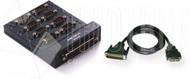 8 Port Connection Box, DB9M, Matel Case