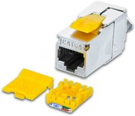 KAT6A 10 Gigabit Ethernet SLIM Keystone Modul