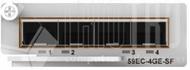 4-Port Gigabit Ethernet SFP optische Erweiterungskarte für 5900E Serie
