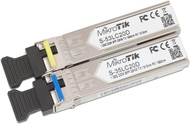 Pair of SFP modules, S-35LC20D (1.25G SM 20km T1310nm/R1550n