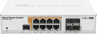 CRS112-8P-4S-IN Cloud Router Switch mit QCA8511 400Mhz, 8x Gbit, 4x SFP, PoE Out