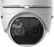Thermal & Optical 4MP Turret Kamera für Körpertemperaturmessung, +30°C - +45°C,