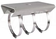 Mastmontageadapter, Senkrechte Mastmontage, 127 x 46 x 250mm, F 67-127mm