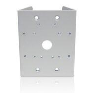 Aluminium-Masthalterung für den Einsatz mit H4A-MT-WALL1, H4-BO-JBOX1