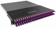 PATCHBOX®Plus+ mit 24 PATCHBOX® Kassetten/Patchkabel, OM4 LC-SC