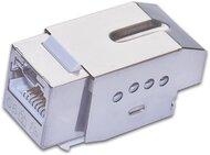 KAT6 10 Gigabit Ethernet Keystone Modul, mit Sperrfunktion