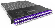 PATCHBOX®Plus+ mit 24 PATCHBOX® Kassetten/Patchkabel, U/FTP, 1,7m, violett