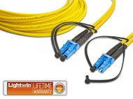 High Quality Duplex LWL Patchkabel, SM, LC - LC