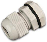 PG11 PVC Verschraubung inkl. Gegenmutter