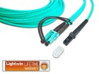 High Quality Duplex LWL Patchkabel, MM OM3, LC - MTRJ, 5.0 Meter
