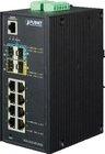 Industrial L2+ 8Port Gbit + 2Port SFP + 2Port SFP+ managed Switch