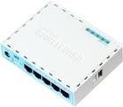 hEX mit Dual Core 880 MHz CPU, 256 MB RAM, 5 Gbit LAN, RouterOS L4