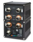 IP67-rated Industrial L2+ 4-Port 10/100/1000T, M12, IEEE 802.3at