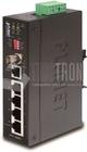 Ind. Ethernet Extender 4-Port 10/100Base + 1Port BNC / RJ11