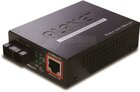 IEEE 802.3af PoE 10/100TX - 100Base-FX (SC) Single Mode Fiber Converter - 15KM