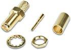 SMA-Einbaubuchse für H-155 Kabel - GOLD VERSION, H-155