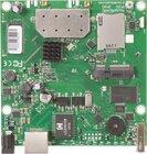 RB912UAG-2HPnD mit 600Mhz Atheros CPU, 64MB RAM, 1xGbit, USB, miniPCIe, 2.4GHz