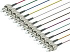 Faserpigtail, Singlemode 9/125µm, OS2, FC, 12er Set