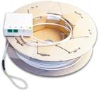 FTTx Wanddose mit vor-konfektioniertem Indoorkabel, 2x SC/APC, 50 m