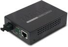 10/100/1000Base-T to WDM Bi-directional Fiber Converter 15km