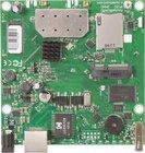 RB912UAG-5HPnD mit 600Mhz Atheros CPU, 64MB RAM, 1xGbit, USB, miniPCIe, 5GHz
