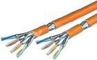 KAT7 Verlegekabel, S/FTP, 1000MHz, LSHF, Twin Kabel, 500m