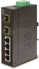 Industrial 4-Port 10/100/1000T + 2-Port 100/1000X SFP Switch