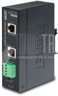 Industrial Single-Port 10/100/1000Mbps Ultra PoE Splitter, IP30