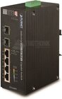 Industrial 4Port Gbit PoE+ + 2Port Gbit SFP Switch
