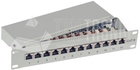 12-Port KAT6 Patch Panel, 10