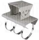 Horizontale Mastbefestigung für Box- und Gehäuse Kameras