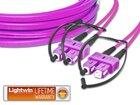 High Quality Flat-Duplex LWL Patchkabel, MM OM4, SC - SC
