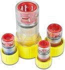 Verschlusskappe mit Gas-Stop-Einzelzugabdichtung, 7mm, 2-5mm, Rohrdimension: 7mm